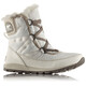 Sorel Whitney Short Lace Boots Women white